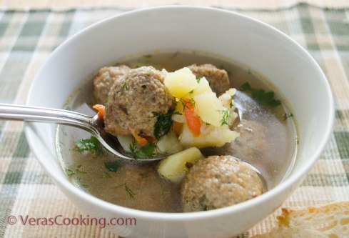 Soup with Meatballs (10 of 10)