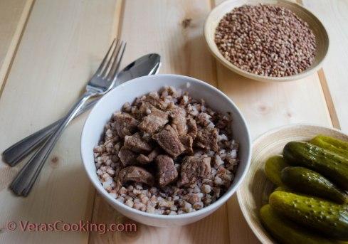 Buckwheat Kasha with Braised Beef (5 of 5)