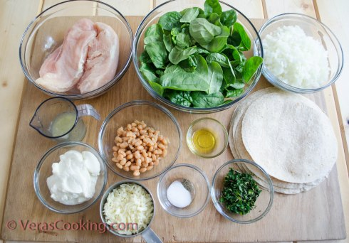 Chicken, Spinach & Ricotta Quesadillas (1 of 21)