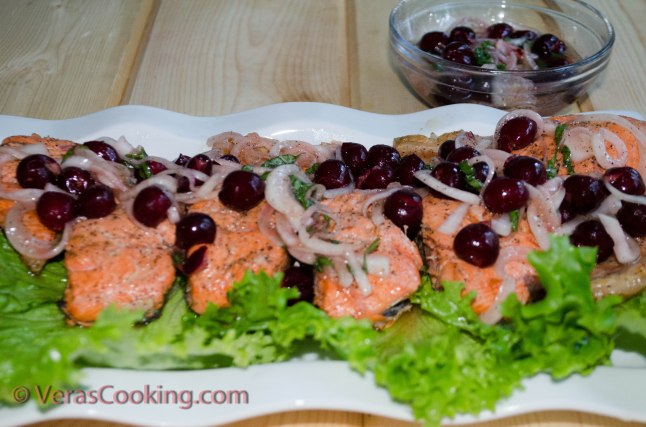 Pan Roasted Salmon with Cherry Relish (8 of 13)