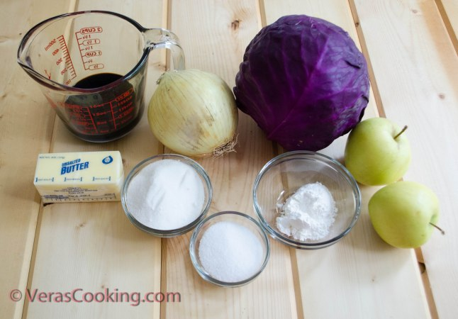 German Red Cabbage Salad (1 of 15)